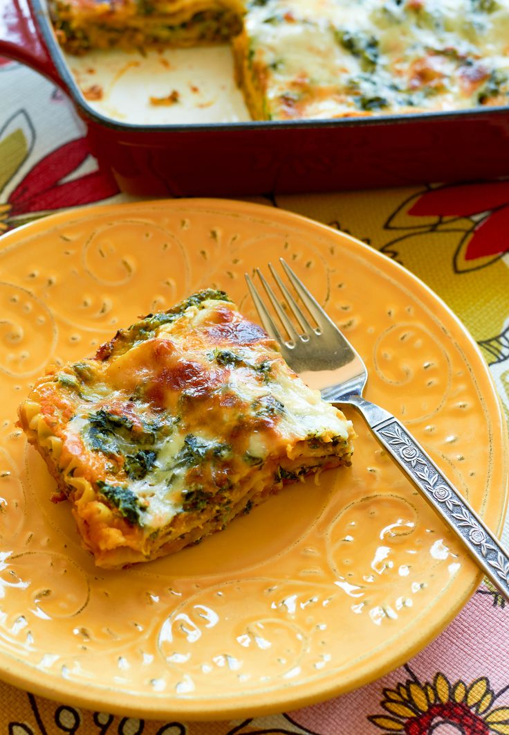 Butternut squash is a powerhouse for vitamins A and C. You can pack butternut squash puree into your lasagna to give it a nutritious boost.
