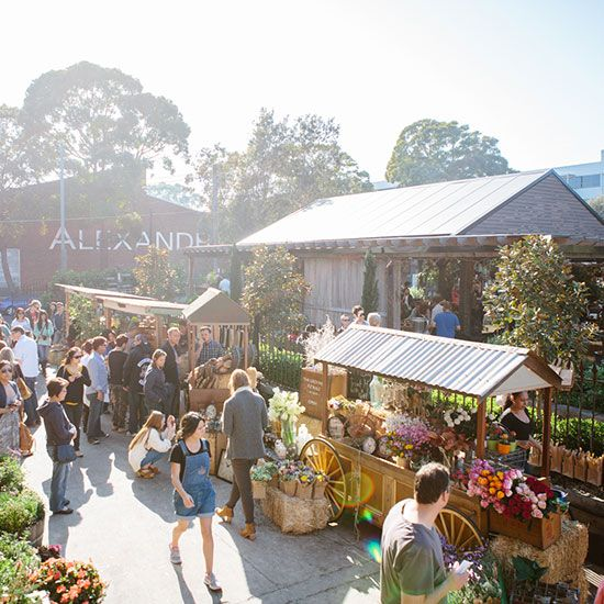 The Grounds of Alexandria's #Markets in #Sydney
