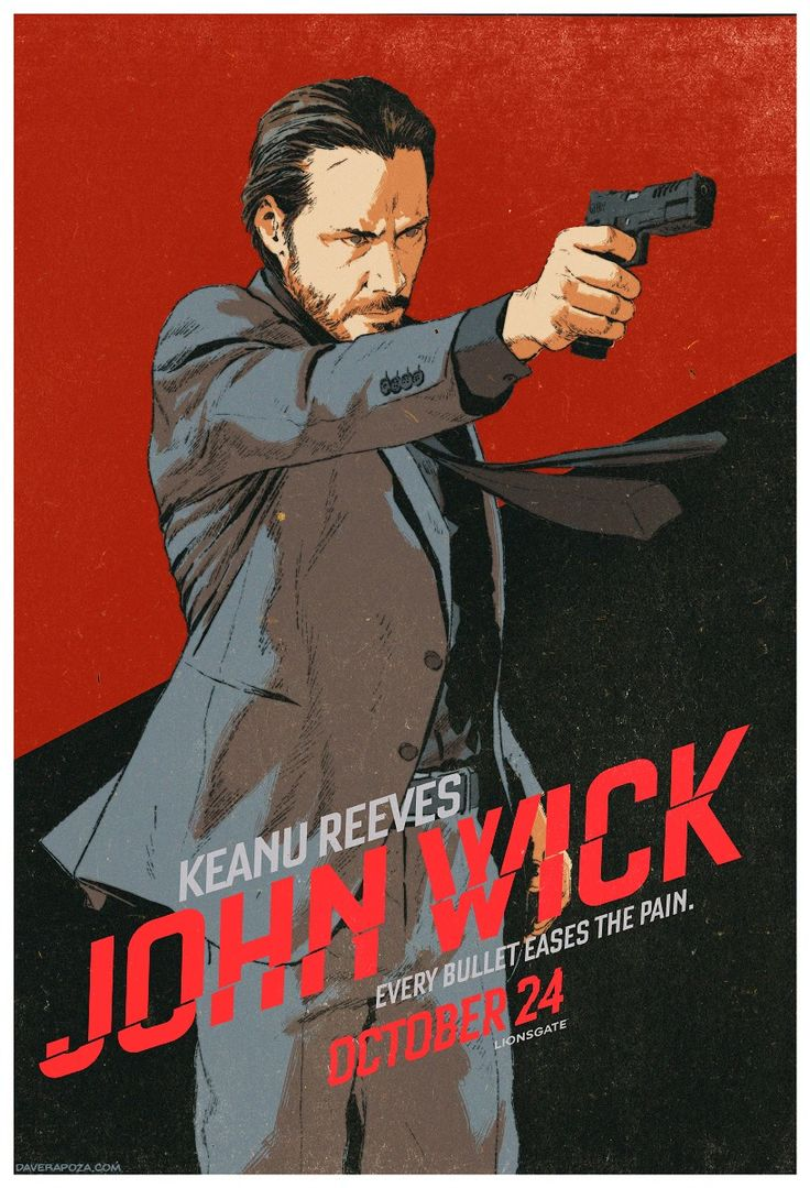 John Wick by Dave Rapoza                                                                                                                                                                                 Plus