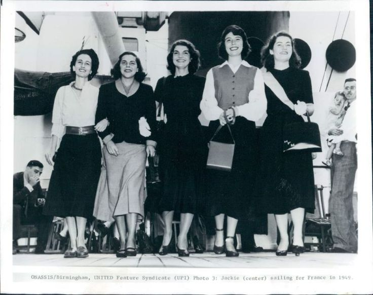 If you were born in 1949 - that year Jacqueline Bouvier set sail with other gal pals to start her year of study abroad at University of Grenoble in Grenoble, France, and at the Sorbonne in Paris – in a study-abroad program through Smith College for her Jr. year at Vassar College.