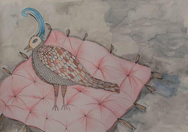 #fairytale , #Chinese , #Emperor , #HansChristianAndersen #childrensbook #illustration #chinese fairytale, #aquarelle, #book #fineart #nightingale , #arted , #education , #elemed , #kidlit , #picturebooks , #storyappchat , #kidbooks #birds