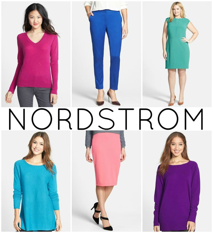 Workwear fashion advice for the color lover; office fashion that professionally incorporates color, focusing on cusp-sized budget friendly career wear