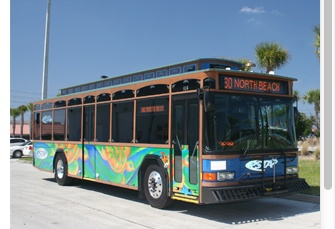 The Suncoast Beach Trolley is a fun and affordable way to explore the #TampaBay Beaches.  http://www.psta.net/beachtrolley.php