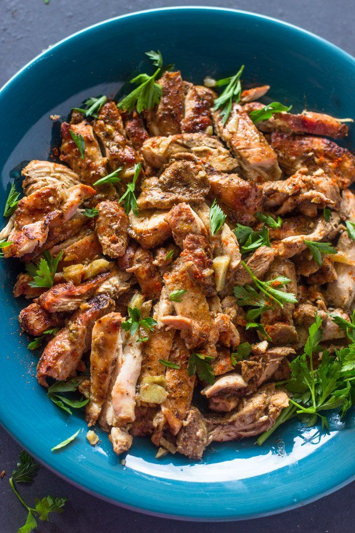 Simple and easy to make oven roasted shawarma chicken is great in sandwiches, rice bowls, or salad. Shawarma are the Middle Eastern equivalent of burgers and fries. Just about every country in the …