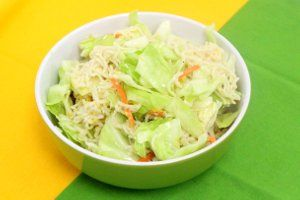Ramen Noodle Summer Salad is a great complement to burgers and brats.