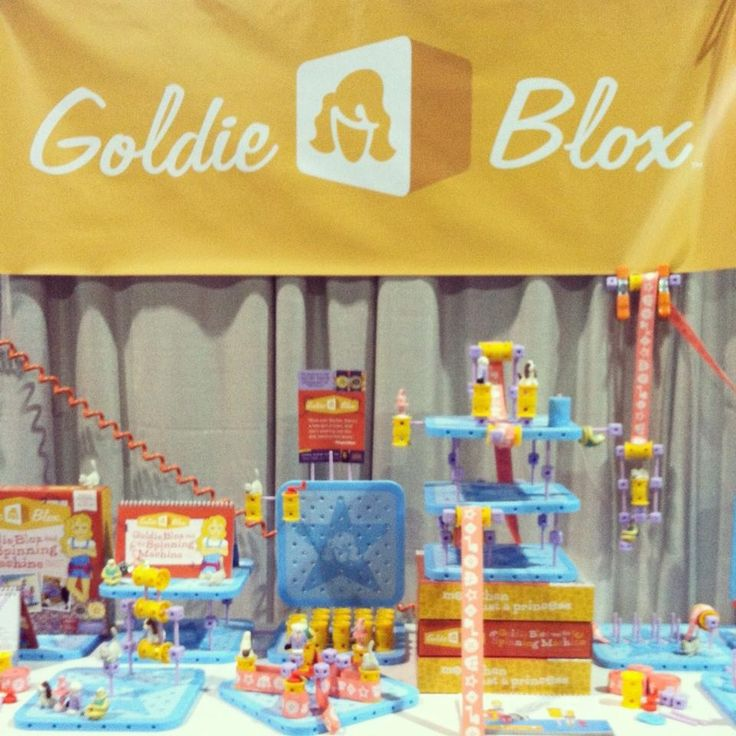 Engineering toys for girls. www.goldieblox.com