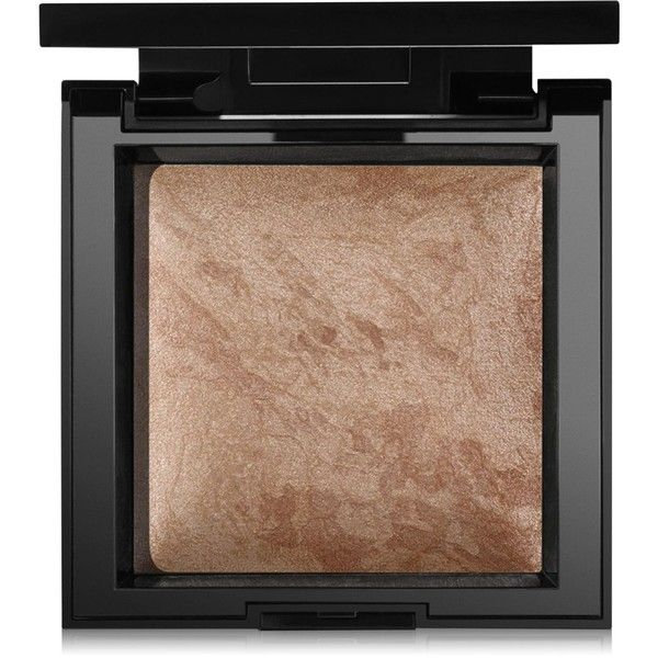 bareMinerals Total Invisible Glow Highlighter found on Polyvore featuring beauty products, makeup, face makeup, tan, bare escentuals cosmetics, bare escentuals makeup and bare escentuals