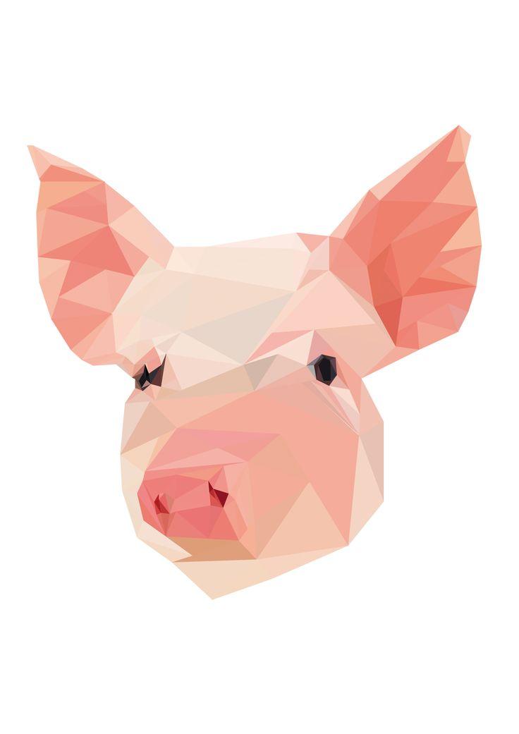 true pig :D vector
