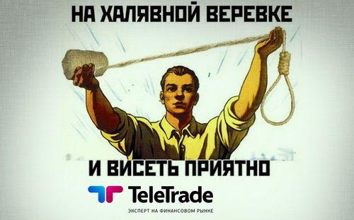 TeleTrade с большой дороги