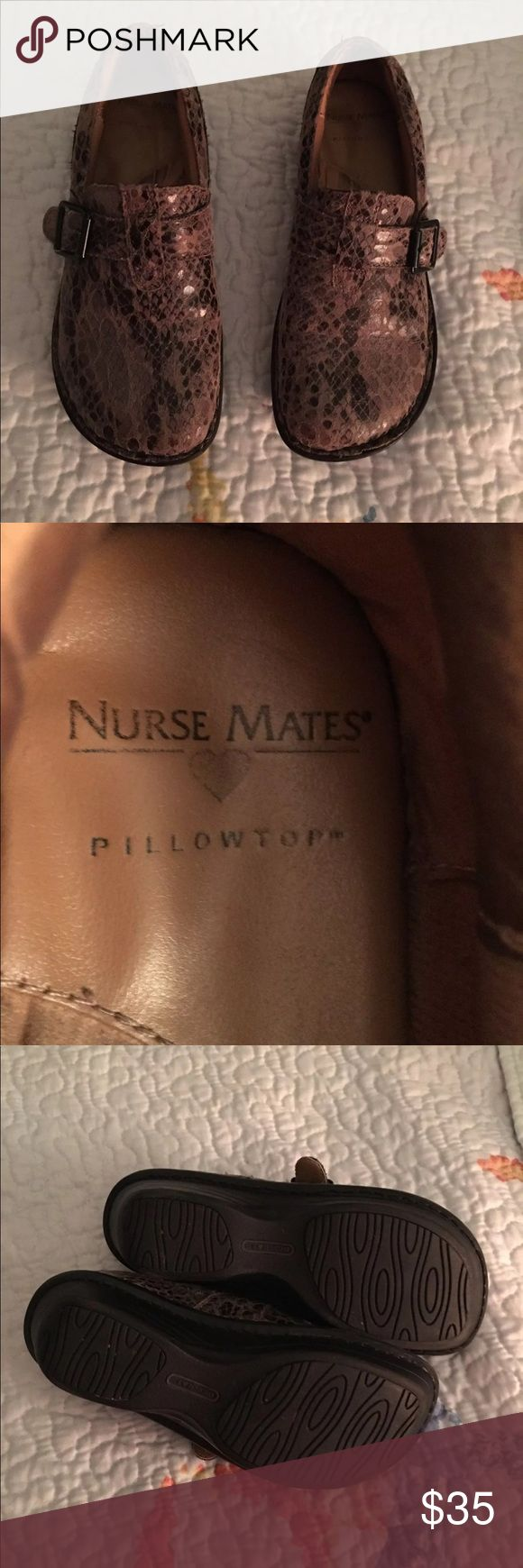 Nurse Mate Shoes Nurse mate pillow top shoes Size 6m Great used condition Nurse Mates Shoes Mules & Clogs