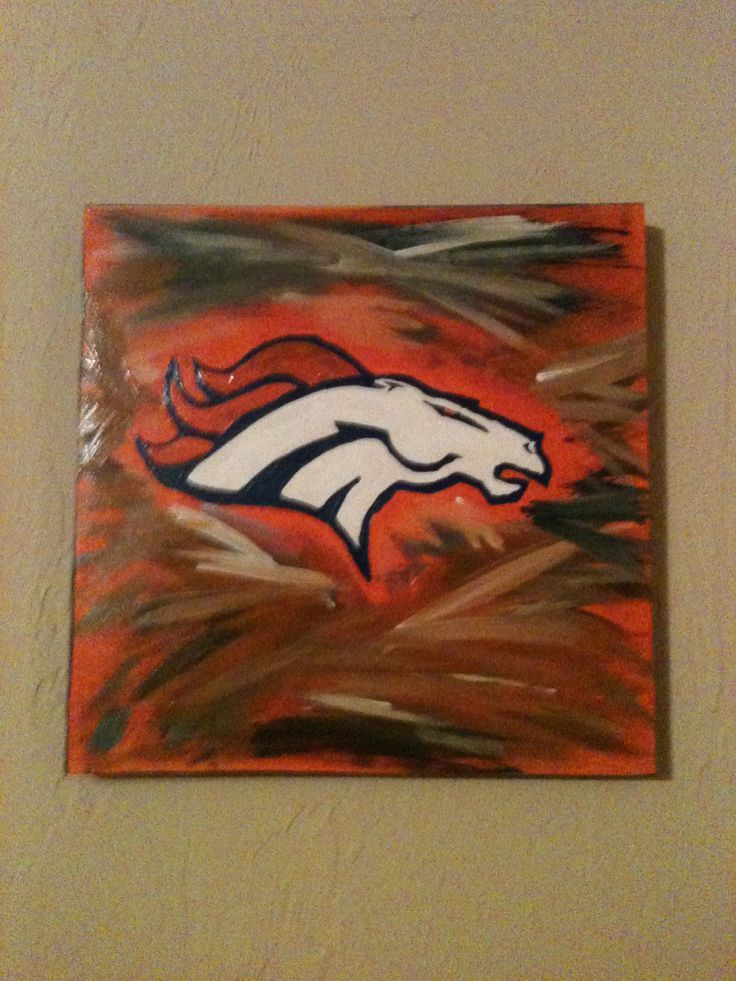 Broncos Wall Art 34 best for the love of paint images on pinterest | airplanes