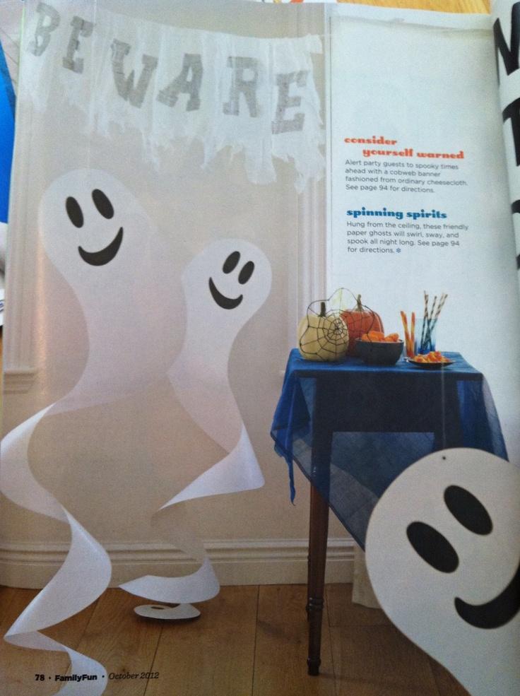 Halloween Decoration Ideas Ghosts