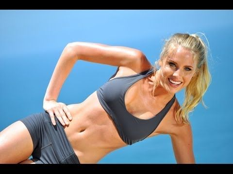 The Ultimate Plyometric Workout for Beginners: Torch Major Calories and Burn Fat in 20 min - YouTube...PRETTY GOOD....ONE CIRCUIT REPEATED TWICE...NO WEIGHTS.