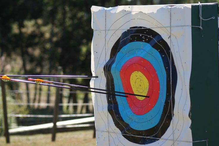 Archery someone has a good target!