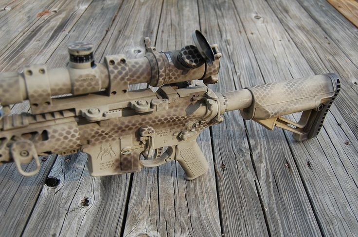 AR-15 rattle can paint job pics -