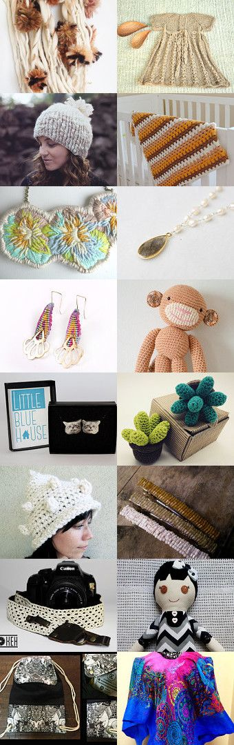 Natural colors, chilean talent by Josefina Marambio Márquez on Etsy--Pinned with TreasuryPin.com