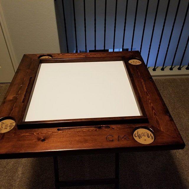 Dominoe Table Custom Made Mesa De Domino In 2020 Domino Table Domino Custom