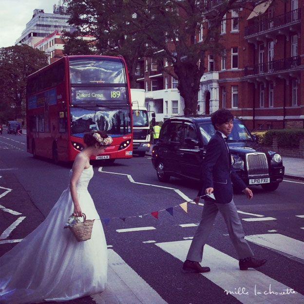 イギリスロンドン*ウェディングフォトツアー