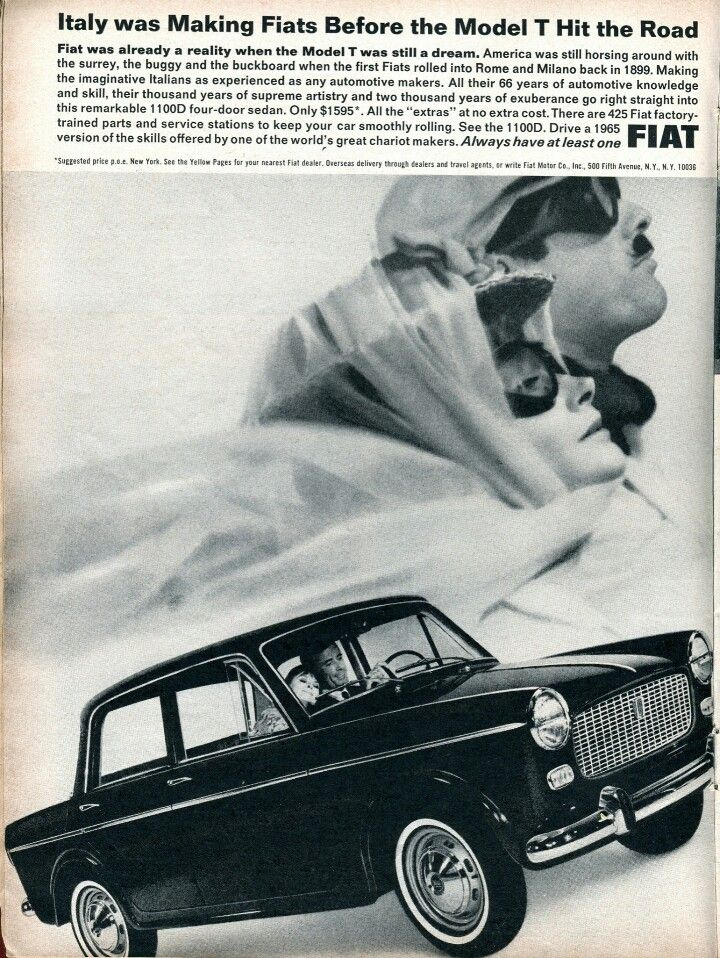 FIAT D Road Track Magazine July Cars Pinterest - Nearest fiat dealer