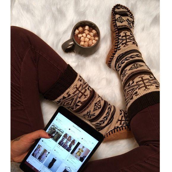 Cozy socks for sale on Poshmark