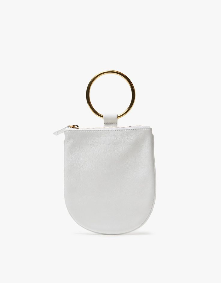 summer bag! Otaat/Myers Collective Pouch in White