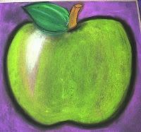 BluemoonPalette: 6th chalk on blk paper