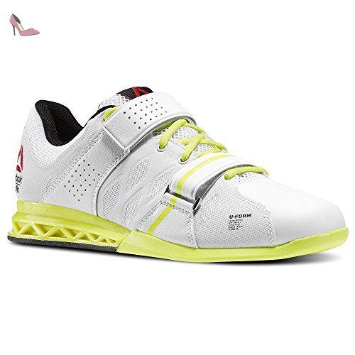 Reebok Crossfit élévateur de chaussures d'haltérophilie femme, femme, Blanc/jaune, 7.5 UK - Chaussures adidas (*Partner-Link)