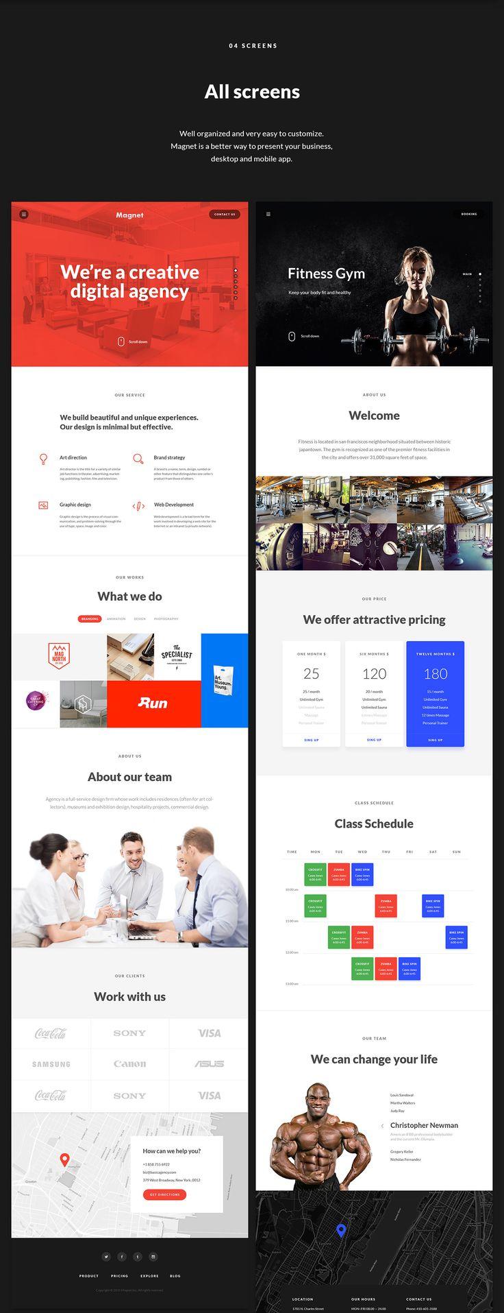 Bussines launch UI Kit