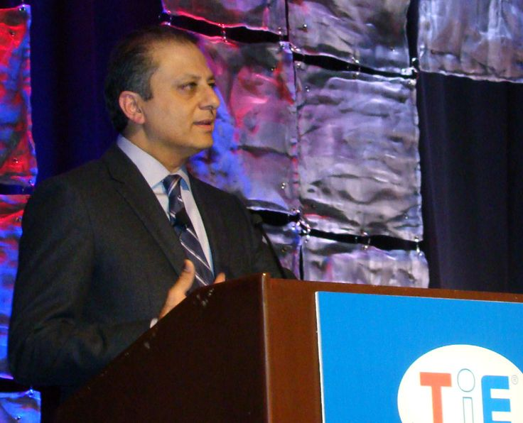 Fired U.S. Attorney Preet Bharara to Join NYU Law School File photo of attorney Preet Bharara seen here speaking at TiEcon 2015, in Santa Clara, Calif., May 2015. (Ras H. Siddiqui/Siliconeer)    India-born former top federal prosecutor Preet Bharara, fired by the Trump administration after he refused to quit, will join the prestigious New York University's Law School as a distinguished scholar, http://siliconeer.com/current/fired-u-s-attorney-preet-bharara-to-join-nyu-law-s