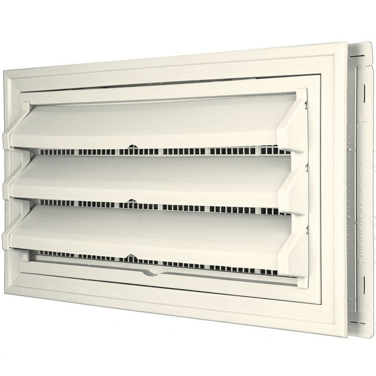 Builders Edge 140036410034 Foundation Vent Kit - Trim Ring and Fixed Louver option (Molded Screen) 034, Parchment >>> Click image to review more details.