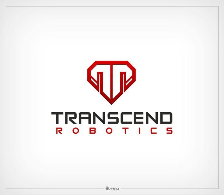 Create a logo for a new robotics company, Transcend Robotics by arsy|graphics™
