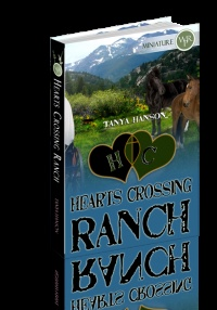Book One, Hearts Crossing Ranch series. Find out how cowboy Kenn and landscaper Christy fall in love on a city slicker wagon train trip.