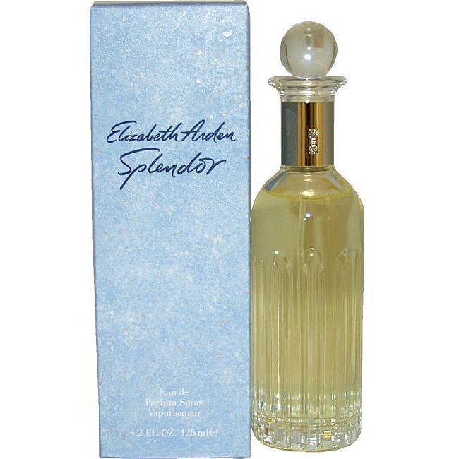 Elizabeth Arden Splendor Women's 4.2-ounce Eau de Parfum Spray (Splendor by Elizabeth Arden - Eau De Parfum Spray 4.2 oz for), White, Size 4.1 - 5 Oz.