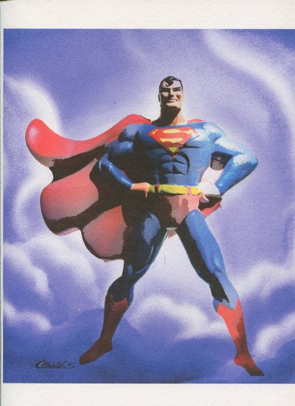 Justice League Batman Joker Superman Wonder Woman Rooftop Gargyole Original Comic Art Chris Conidis Comic Art Comic Art Batman Superman Wonder Woman