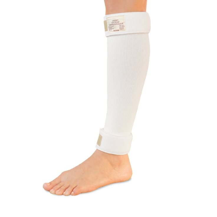 Cho-Pat Shin Splint Compression Sleeve, White, Medium, 11 Inch-16 Inch * Read more reviews of the product by visiting the link on the image.