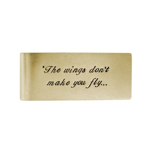 Personalized 14k Solid Gold Money Clip