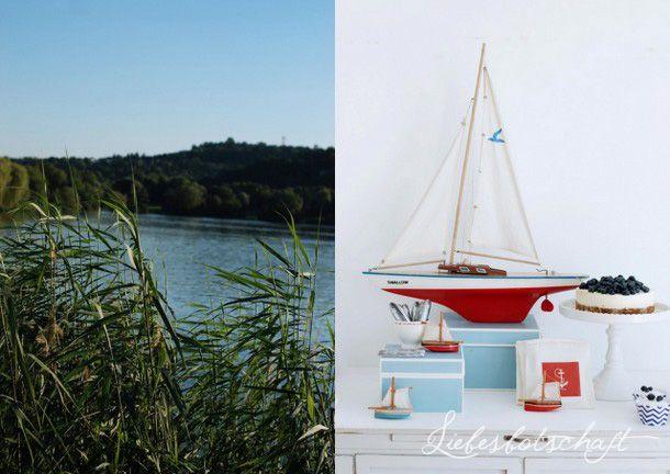 Liebesbotschaft: Ein Tag am See!