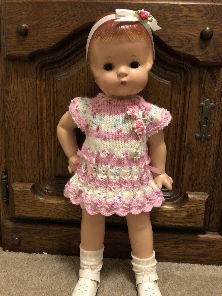 Effanbee Patsy doll dress Dolls, Vintage dolls, Baby dolls