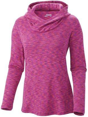 Columbia Sportswear Outerspaced Hooded Shirt (For Women) - Shop for women's Shirt - Dark Raspberry (03) Shirt