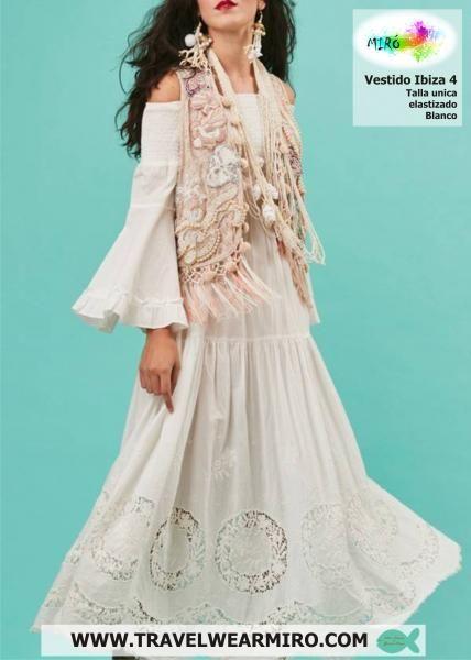 Vestido Ibiza 4, Vestidos - Ropa de viaje, ropa de crucero, antica sartoria, ropa de vacaciones -  Travel Wear Miro