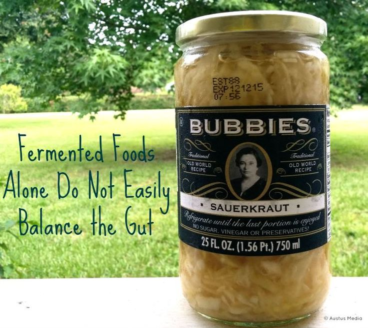 Fermented foods don't easily heal the gut or resolve autoimmune disease on their own.  They need a soil based probiotic boost.  http://www.thehealthyhomeeconomist.com/soil-based-probiotics-plus-fermented-foods-heal-gut/