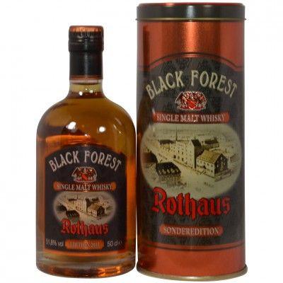 Rothaus Black Forest Single Malt Whisky Sonderedition 2015 Dark Rum Cask Finish