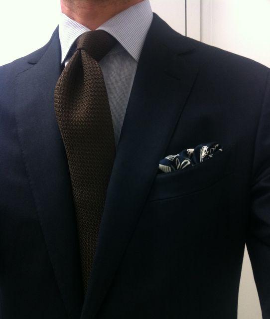 la casuarina • Monday, front and center. Zegna suit (Milano cut)...