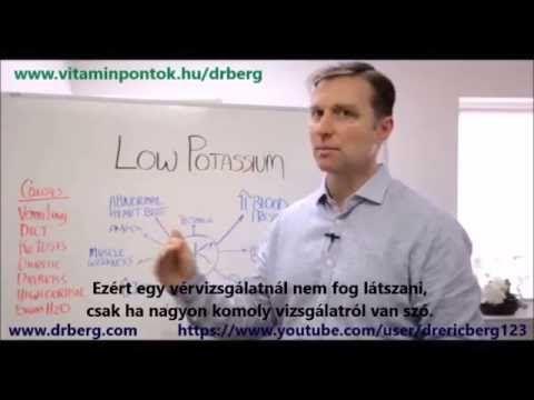Dr.Berg: A kálium hiány legfőbb tünetei - YouTube
