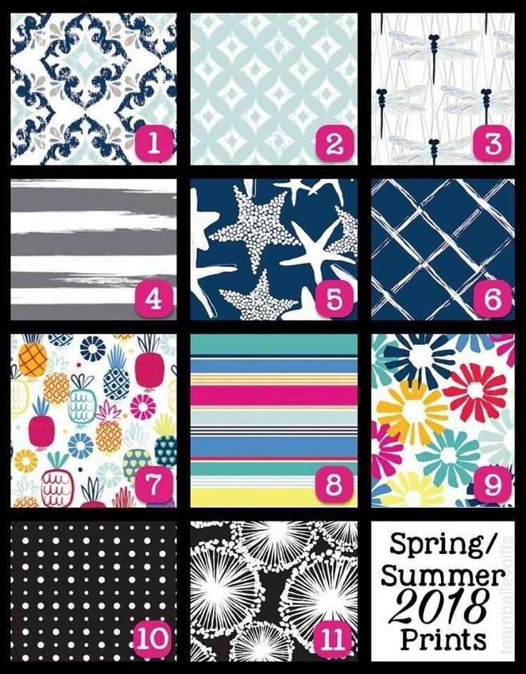 2018 Spring/Summer Prints for Thirty-One