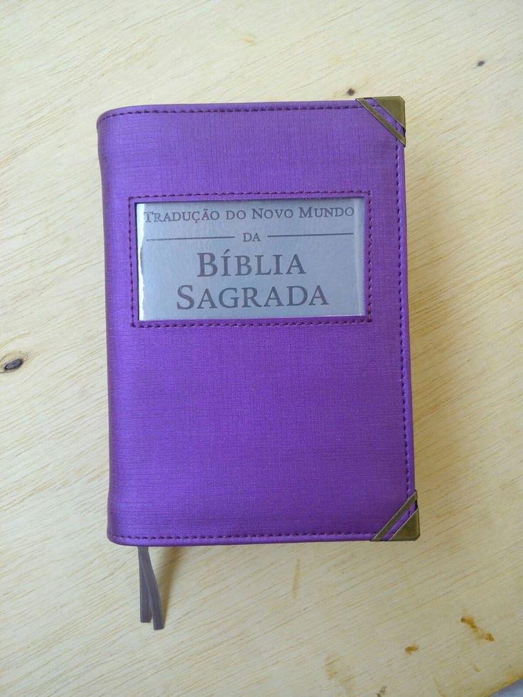 Capa Bíblia roxa