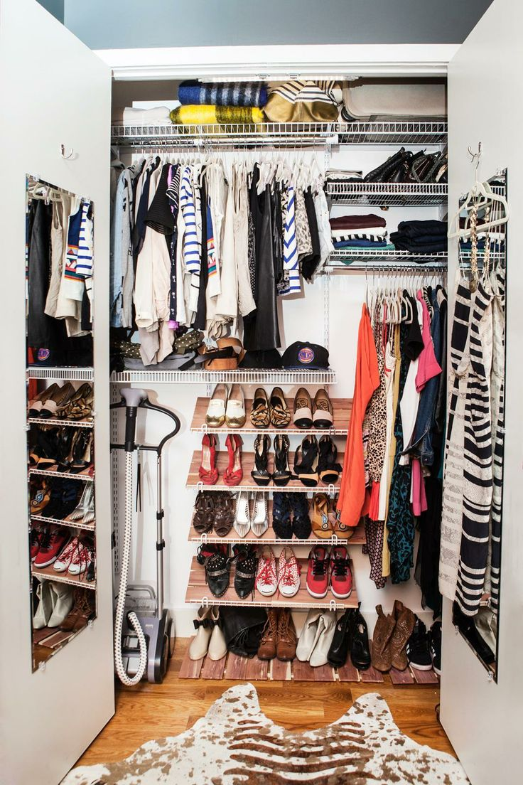Closet Design Ideas   Easy Clothing Organization Tips