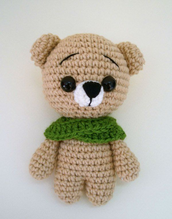 Amigurumi Tutorial Animali : Free crochet animal patterns - teddy bear amigurumi ...
