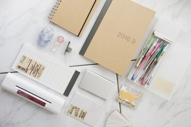 EVENT HAUL: MUJI Back to School Stationary and Organization back to school life muji