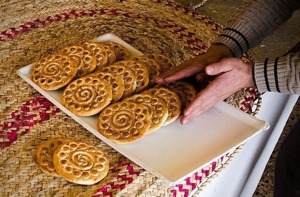Koloocheh - Iranian date & walnut filled cookies, especially prepared for Norooz celebrations in the south of Iran.
